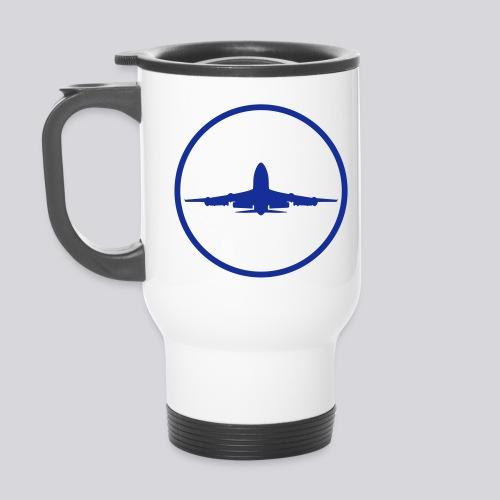 IVAO (Blue Symbol) - Thermal mug with handle