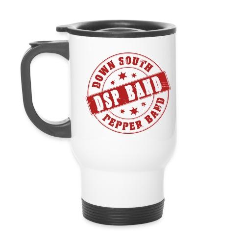 DSP band logo - Thermal mug with handle