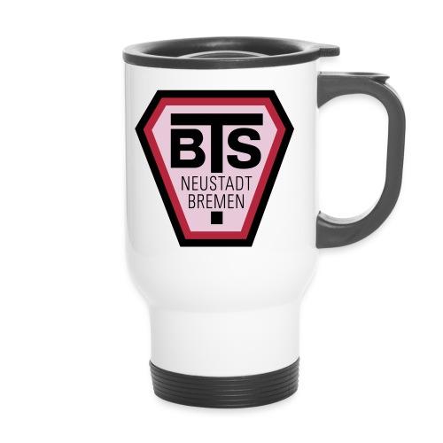 bts logo - Thermobecher mit Tragegriff