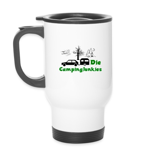 campingjunkies png - Thermobecher