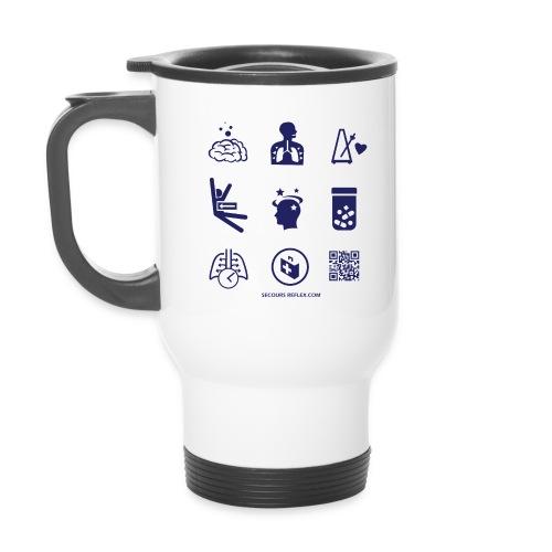 teeA3iconesBleu 01 png - Mug thermos
