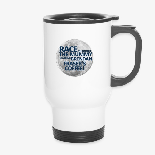 Race Through The Mummy - Thermal mug with handle
