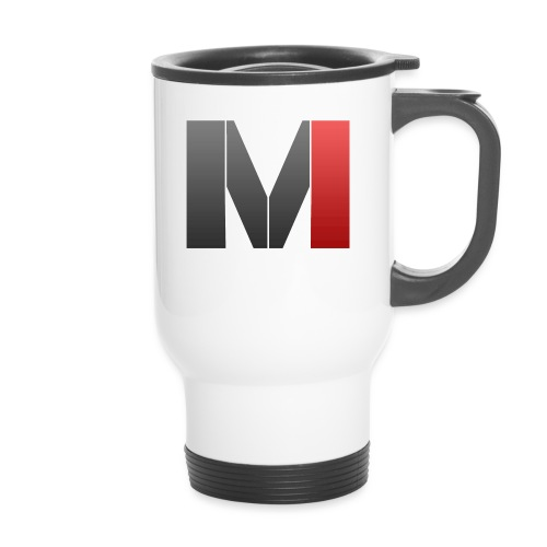MrGank LOGO - Thermal mug with handle