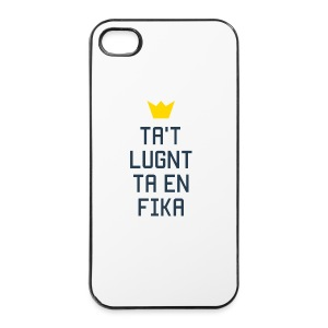 Ta't Lugnt Ta En Fika - iPhone 4/4s Hard Case