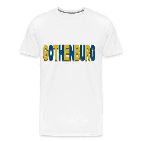 Gothenburg - Premium-T-shirt herr
