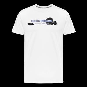 Radio PARALAX Facebook-Logo - Männer Premium T-Shirt