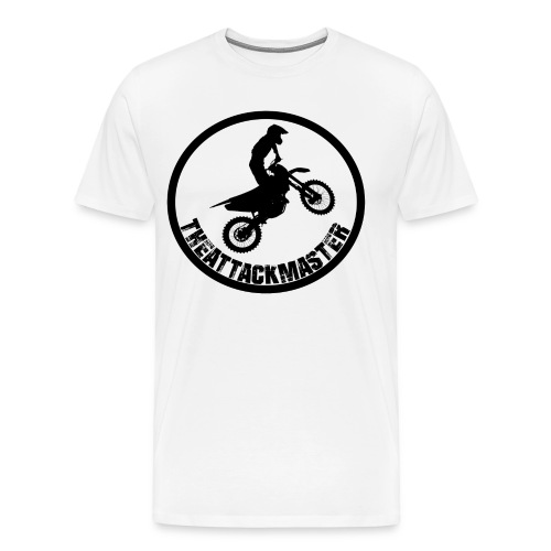 TheAttackMaster Official Black - Herre premium T-shirt