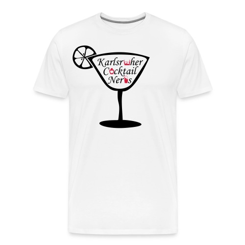 Cocktail Glass - Männer Premium T-Shirt
