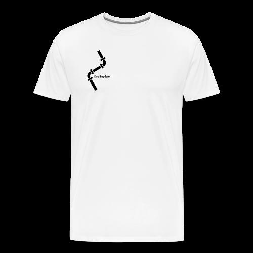 Drainpipe Logo - Men's Premium T-Shirt
