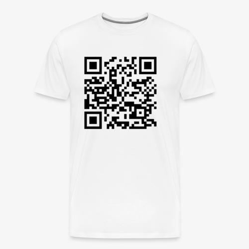 Channel Link QR Code - Men's Premium T-Shirt