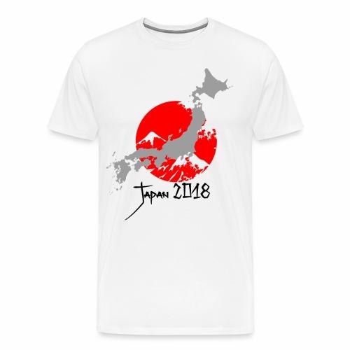 Japan 2018 - Premium T-skjorte for menn