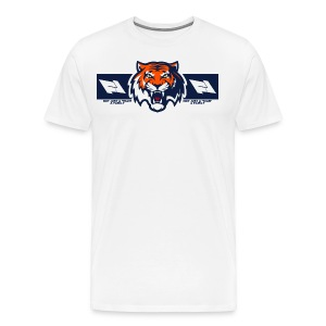 TIGER LOGO AND FOX LEARDER LOGO - Men's Premium T-Shirt