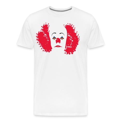 Evil clown IT - Men's Premium T-Shirt