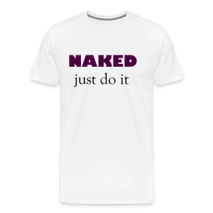 Naked Collection - Premium T-skjorte for menn