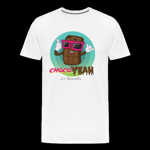 ChocoYEAH - Camiseta premium hombre