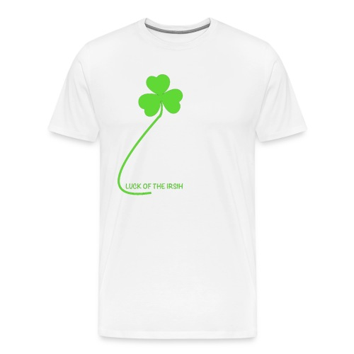 Luck of the Irish - Men's Premium T-Shirt