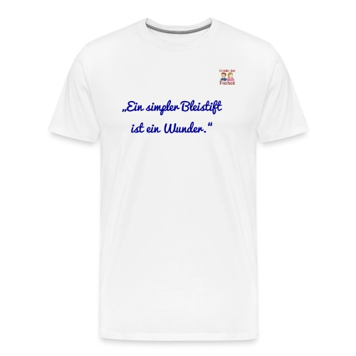 Bleistift 2 - Männer Premium T-Shirt