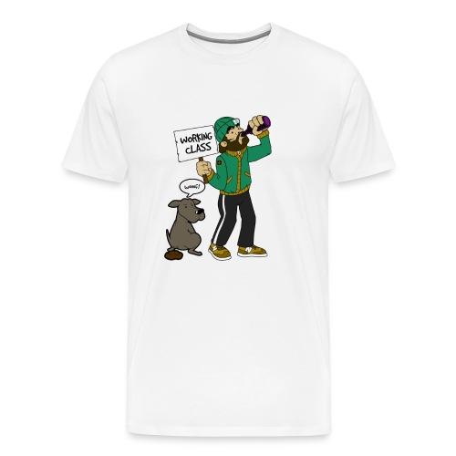 Bad company - working class gift - Männer Premium T-Shirt