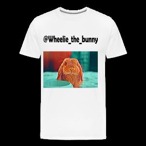 Wheelie the bunny - Maglietta Premium da uomo