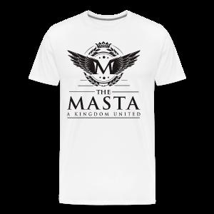 Die MASTA - Ein Königreich United / Full Logo - Männer Premium T-Shirt
