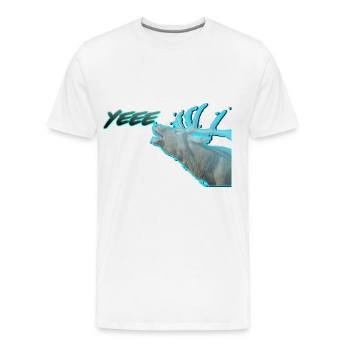 YEE! HIRSCH DESIGN - Männer Premium T-Shirt