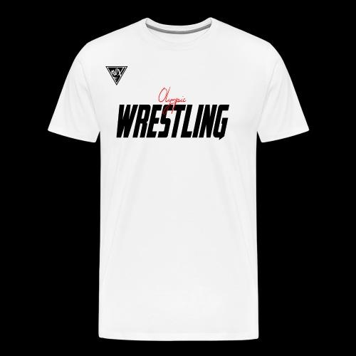 Olympisches Ringen, Olympionik Wrestling - Männer Premium T-Shirt
