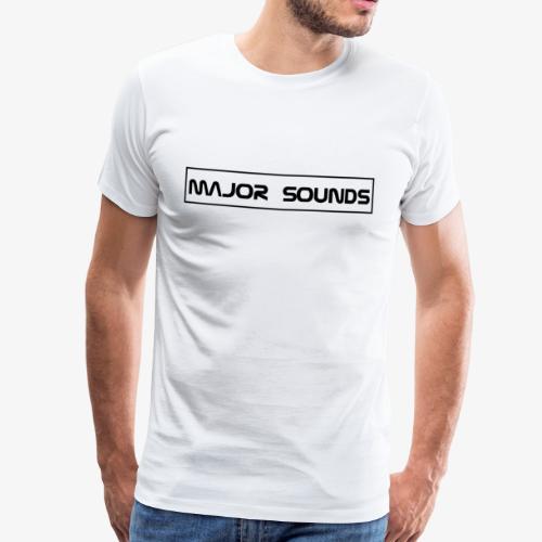 MajorSounds Schriftzug - Männer Premium T-Shirt