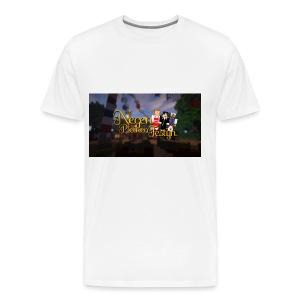 Posterlogo2 - Mannen Premium T-shirt