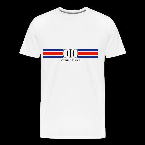 Retro T-Shirt tricoleur - Men's Premium T-Shirt