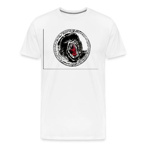 gezeichneter Print fuer ein T Shirt - Männer Premium T-Shirt
