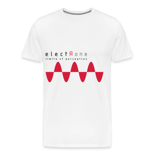 Limits of Perception – Electrone - Männer Premium T-Shirt