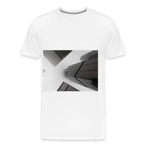 fin - Premium-T-shirt herr