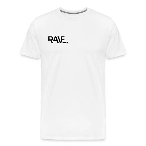 RAVE ClothingBlackLogo - Men's Premium T-Shirt