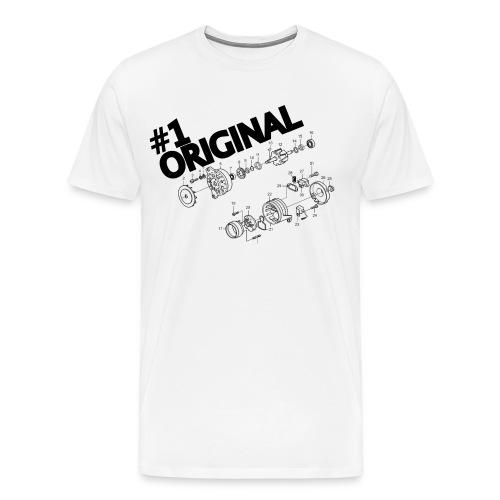 Alt A - Original Alternator - Men's Premium T-Shirt