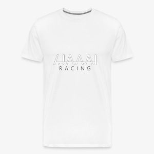 Jahaa racing logo - Premium T-skjorte for menn