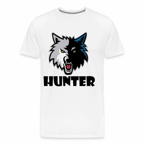 Hunter T-schirt - Mannen Premium T-shirt