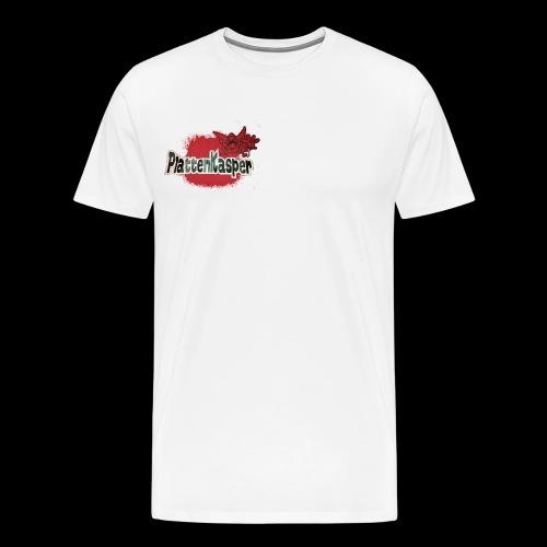 Der Plattenkasper - Männer Premium T-Shirt