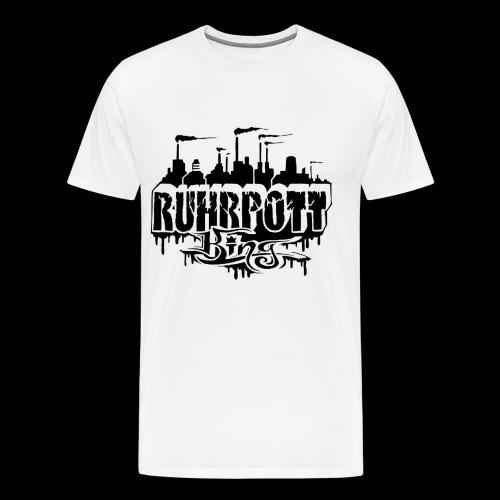 Ruhrpott King - Männer Premium T-Shirt