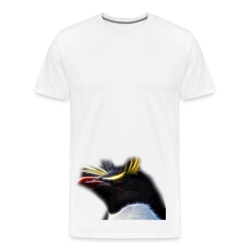 Fractalius Penguin - Mannen Premium T-shirt