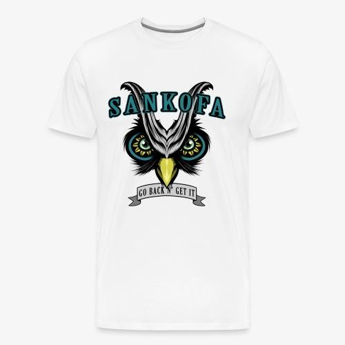 Sankofa Wisdom - Men's Premium T-Shirt