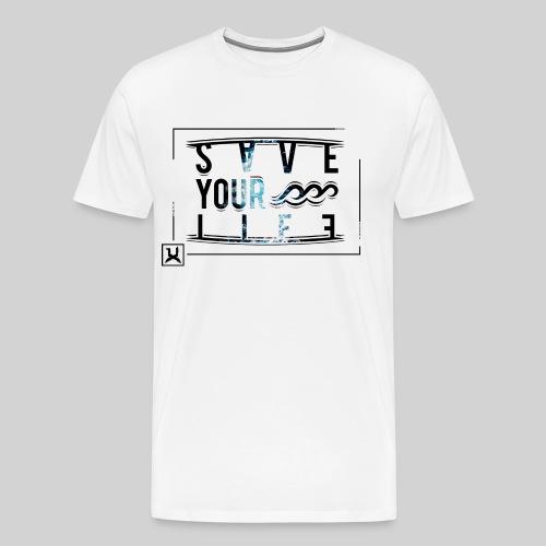 SAVEYOURLIFE - Männer Premium T-Shirt
