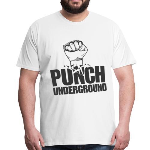Punch Underground Black - Männer Premium T-Shirt