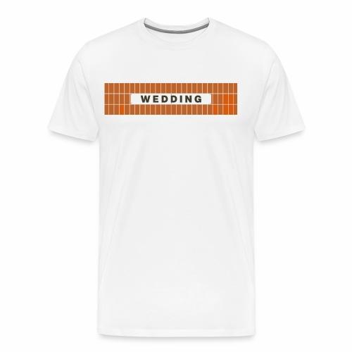 Wedding - Männer Premium T-Shirt