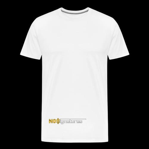 N0$ignatures (nessuna firma) - Maglietta Premium da uomo