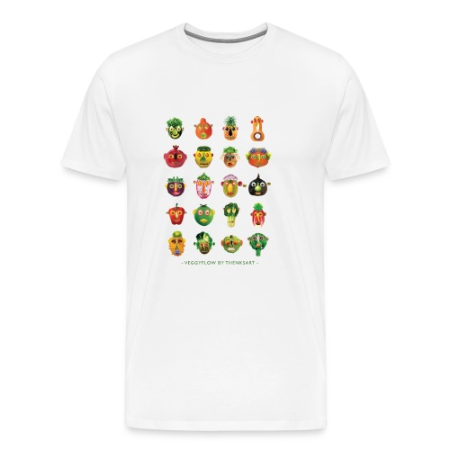 VeggyFlow - Männer Premium T-Shirt