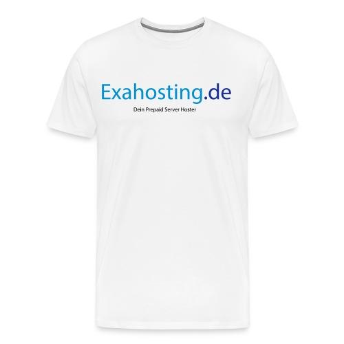 Exahosting Front - Männer Premium T-Shirt