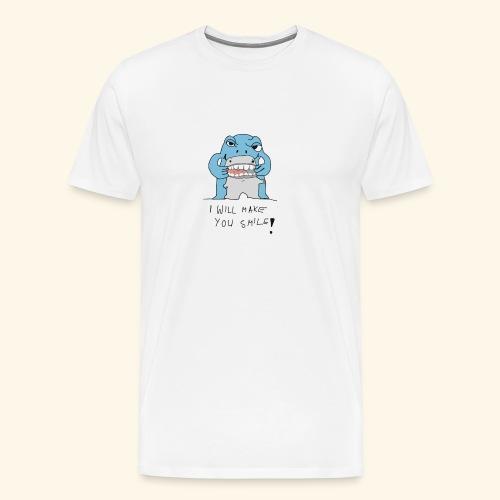 I Will Make You Smilie - Männer Premium T-Shirt
