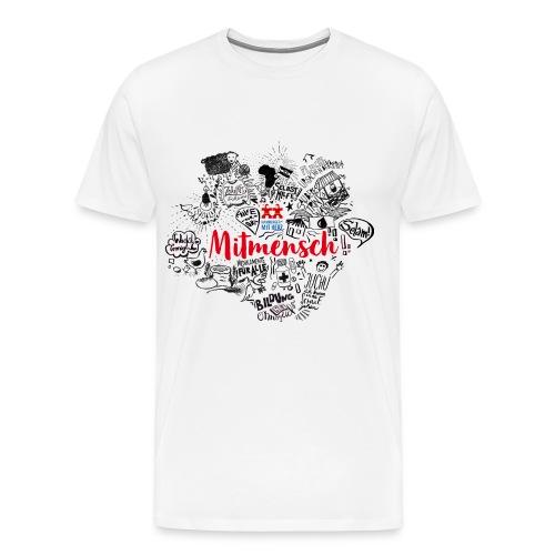 Mitmensch Mekerie - Männer Premium T-Shirt