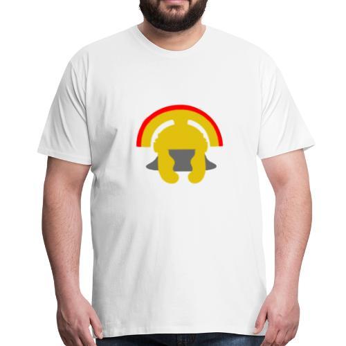 Casque de centurion en or - T-shirt Premium Homme