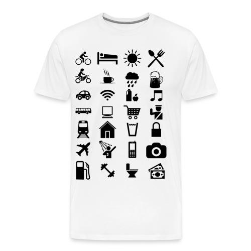 T-shirt de voyage à l'étranger - T-shirt Premium Homme
